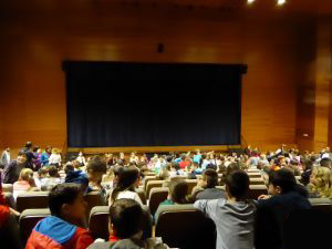 Actuación de Forum Teatro y Educación en La Nucia.