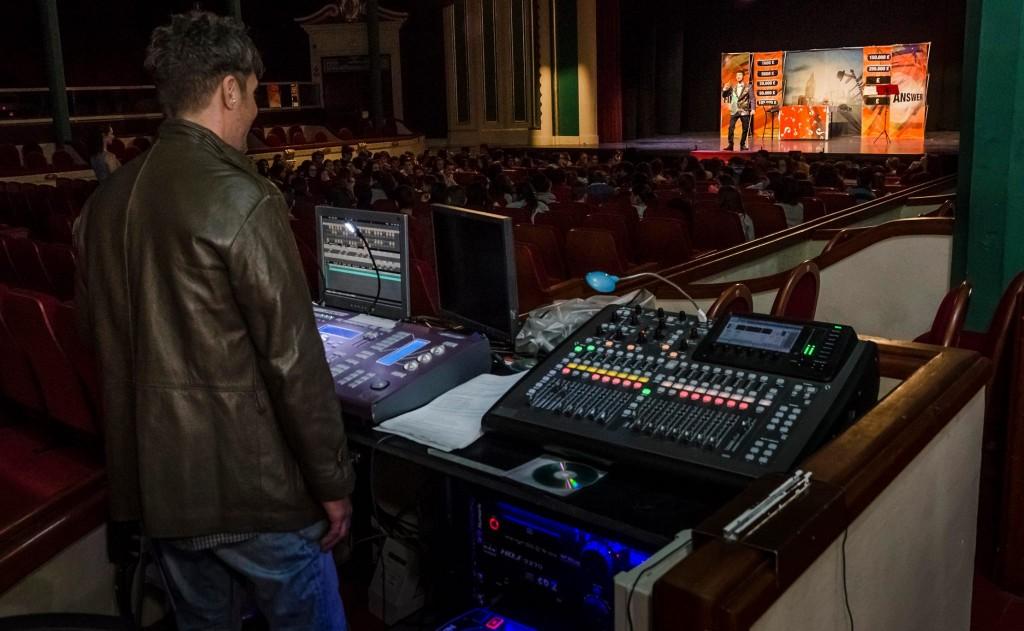 Teatro de Alzira, presentación de las obras de Forum Teatro