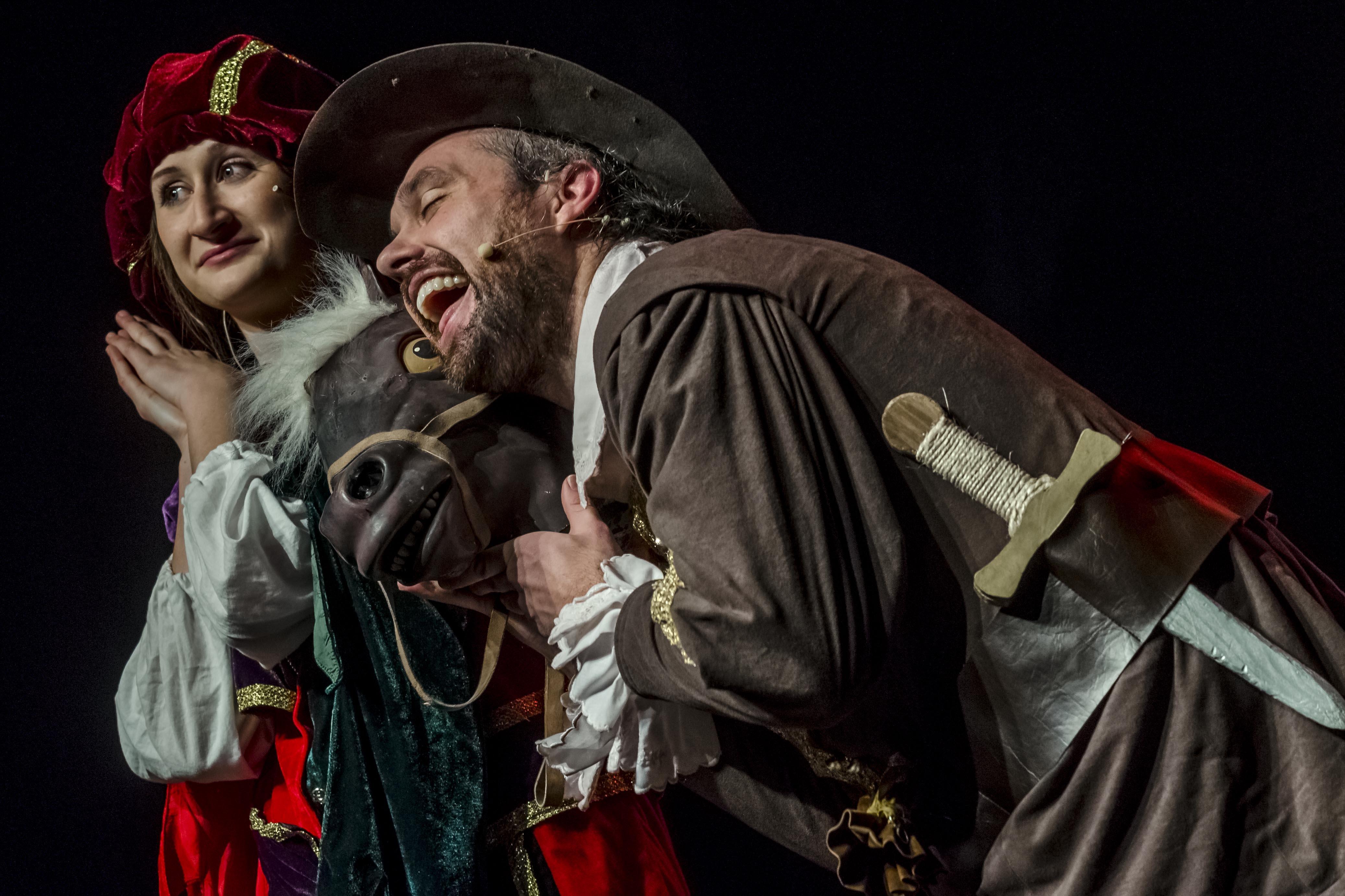 obra de teatro en inglés de D'Artagnan