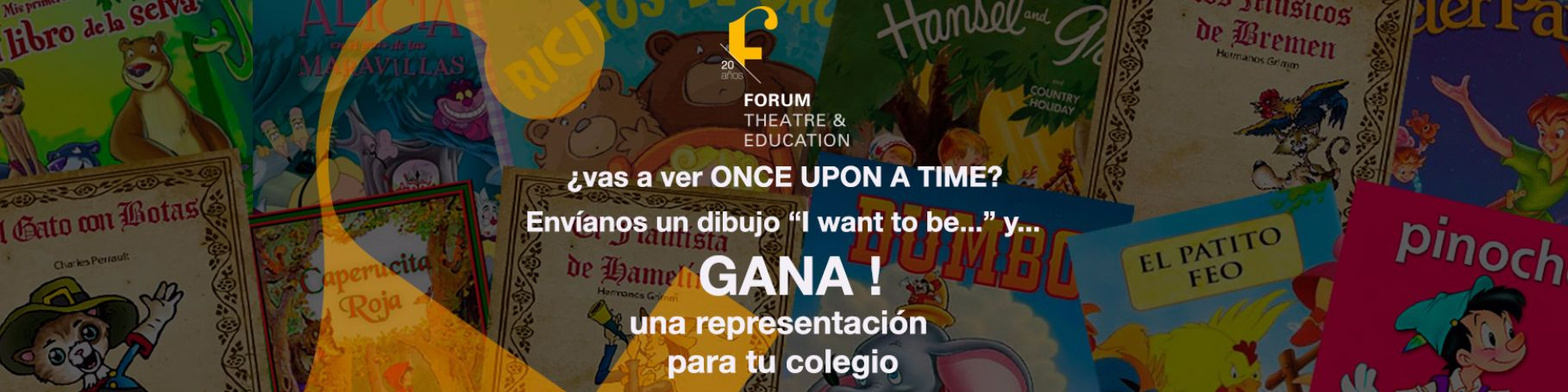 "Concurso de dibujos ""Once upon a time"""