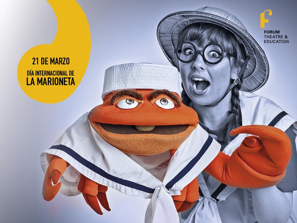 Día internacional de la marioneta en Forum Teatro